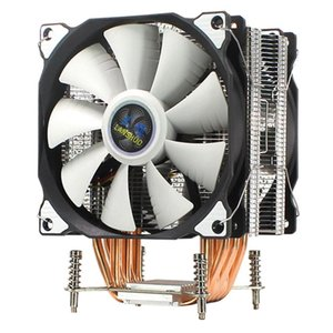 LANSHUO CPU silenciosa Fan dupla 6 Heat Pipe 3 fios CPU Cooler Fan para LGA 2011 Auto-Contido Backplane Motherboard