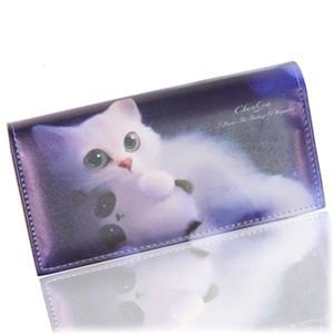 Çanta Burse Tonuox Moda Kadın Cüzdanları Yumuşak Pu Deri Kediler Hayvan Desen Casual Lady Madeni Para Çanta Çantalar torbaları Cüzdan