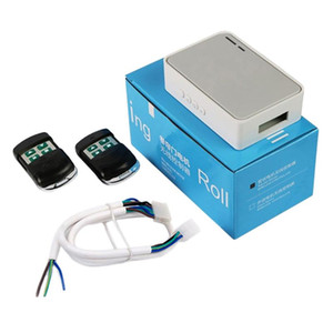 Rolling Shutter Tubular Motor Controller Wireless Garage Porta Porta elettrico Remote Control Kit RF433Mhz Ricevitore Emettitore