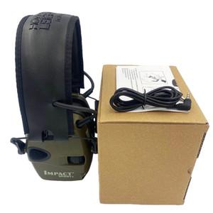Casse-oreille électronique tactique pour la prise de vue, les sports de plein air, les écouteurs anti-bruit, l'amplification sonore, l'écouteurs de protection auditive
