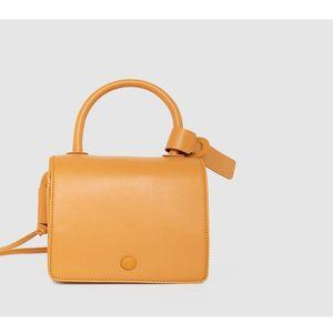 2020 Fashion Shoulder Bag Korean Version Solid Color Portable Small Square Bag PU Crossbody