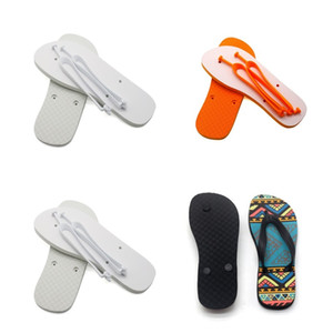 Sublimation Blanks Slippers Rubber Flat Bottomed Home Furnishing Flip Flops Men Women Indoors Shoes Fashion Gifts 14ex N2