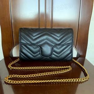 Neue Ankunfts-Frauen Umhängetasche Frau Sling Schwarz Weiblich Mode Hit Farbe Handtaschen Messenger Satchel Tote Bag Umhängetasche