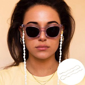 2020 Chic Fashion Sunglass Chain for Womeen Beaded Reading Glasses Cords Lanyard Beads Eyeglass chain Neck Strap for glasses