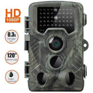 20MP 1080P 트레일 사냥 카메라 HC800A IP65 방수 밤 버전 사진 0.3S 트리거 시간 야생 동물 캠 홈 안전