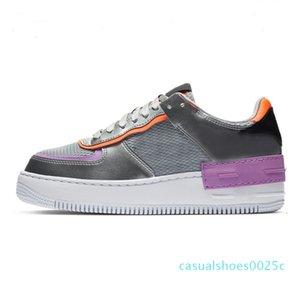 Imen Mulheres sapatos de plataforma Chaussures calçados casuais Preto Aurora Triplo Branco Coral rosa pálido Sapphire Trainers Skate das sapatilhas dos homens 25c