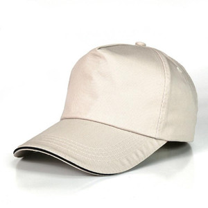Visitas de algodão Publicidade Tampão Custom Logo Trabalho Chapéu de Beisebol de Verão das Mulheres Capas Casuais Visão Casual Esportes Boné Boné Hat H Wmtnl
