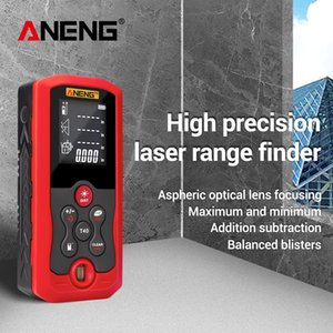 ANENG J01 Laser Distance Meter Rangefinder Range Finder Distance Area Volume Meter T200603