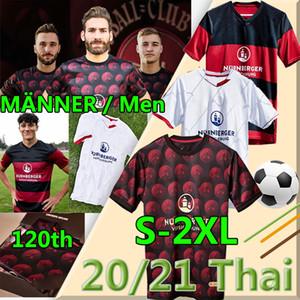2020 2021 Nurnberg Футбол Джерси Рождественская версия 1.FC Nürnberg Футбол футбол 120-летие Schaffler Bohkemper Hack Dovedan Uniform