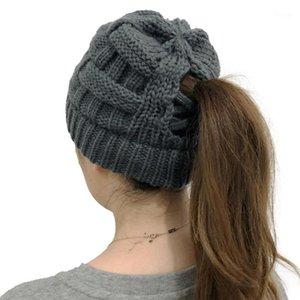Hanxi Fashion Winter Women Hat Hat Beanie Cross Criss Hats Skullie For Girls Warm Ski Cap1