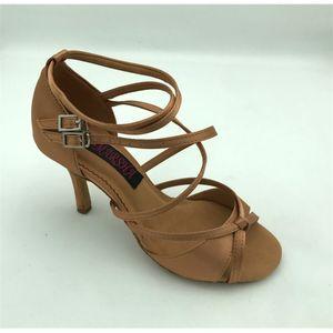 New Fashional profissional das mulheres casamento sapatos latin dança de salão salsa tango partido 6209DTN 201017