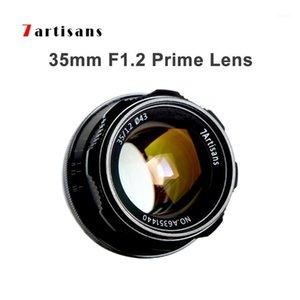 7artisans 35mm F1.2 Prime Lens Manuface Focus Fire Rightless Fixed Lens для Sony E Nikon Z для камеры Fuji XF APS-C A6500 A6300 X-A11