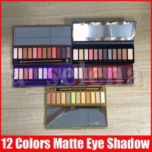 5 stili viso occhio di trucco nudo 12 tavolozza dei colori della gamma di colori 15.6g Miele calore ciliegia ombretto