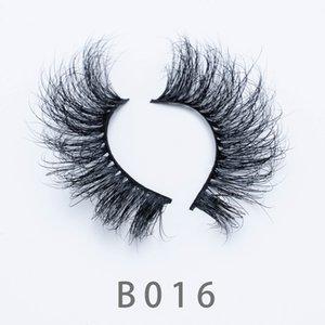 [Mink False Eyelashes-B16]3D Mink Eyelashes Eye Makeup Mink Fake Lashes Soft Natural Thick Eyelashes Eye Lash With beautiful Box Package