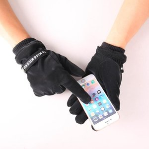 Men Winter Gloves Warm Touchscreen Gloves Windproof Thermal Waterproof Cycling Skiing Sport Glove Full Finger Mittens