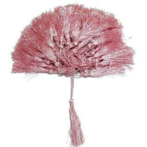100pcs Lot 32 Couleurs Tassel Silk Fringe Pompon Garniture Décoratif Globusels pour cousures Rideaux Vêtements Accueil Décoration Accessoires H BBYNZD