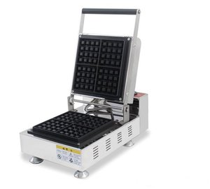 Commercial Use Belgian Liege Waffle Machine Electric 110v 220v Square Brussels Waffle Maker Iron Baker Oven Toaster LLFA