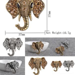 Gz4Ax Broche de vestidos de casaco bonitos elefante pino criatividade broche animal broches na moda esmalte esmalte forma broche para elefante diamante