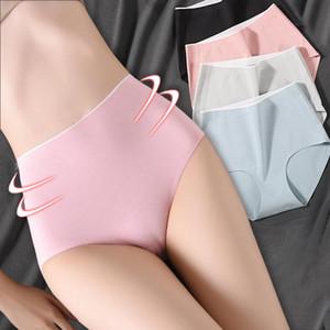 Plus Size XXXL High Waist Cotton Panties Women's Seamless Breathable Abdomen Ladies Underwear Hips Sexy Female Briefs