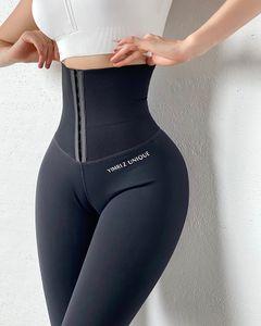 Taille haute Musculation Fitness Legging stretch Collants Body Shaping Pantalons Courir leggings formation d'entraînement yoga Pantalons 201014