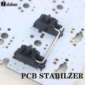 Estabilizador PCB preto para teclado mecânico personalizado GH60 XD64 XD60 XD84 EEPW84 Tada68 ZZ96 6.25X 2X RS96 87
