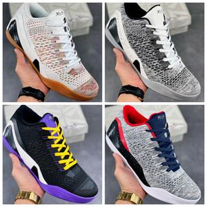 Top Quality Nuove scarpe da basket da uomo Black Mamba Sports Sneakers Four Color Del Sol 6 Erica Var Sports Scarpe Sport con scatola