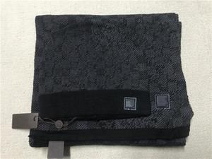 202x Set di sciarpa di cappello di alta qualità per uomo e donne in lana invernale sciarpa design scialle cappello in lana berretto involucro sciarpa