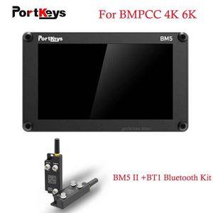 "PortKeys BM5 II 5.2 ""2200nit SDI / HDMI Camera Control Monitor WPT1 وحدة Bluetooth ل BMPCC 4K 6K كاميرا تعمل باللمس شاشة تعمل باللمس"