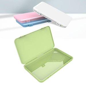Dustproof Mask Case Portable Disposable Face Masks Container Safe Pollution-Free Disposable Mask Stoage Box Storage Bins FWE1214