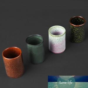 Japanese-Style Kiln Baked Retro Coarse Pottery Straight Cup Kiln Baked Handmade Pottery Kung Fu Tea Master Tea Cup