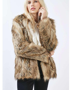 Foreign trade European and American imitation fur coat women short faux coat stand-up collar large size fur coat