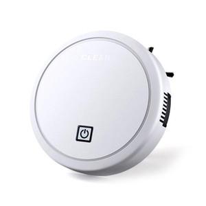USB ligent de charge Aspirateur Robot Lazy Wireless ing Aspirateur Robots Tapis Nettoyage des ménages Blanc