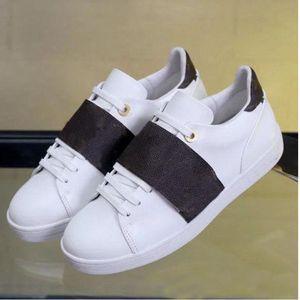 أحذية الترفيه الربيع ربيع الخريف أحذية جلدية الرجال الأبيض امرأة أحذية الجمباز الرقص القيادة شقة عارضة أحذية كبيرة الحجم 41-42-45