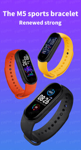 M5 Smart Bracelet Men Women Heart Rate Monitor Blood Pressure Fitness Tracker Smartwatch Band 5 Sport Watch For IOS Android