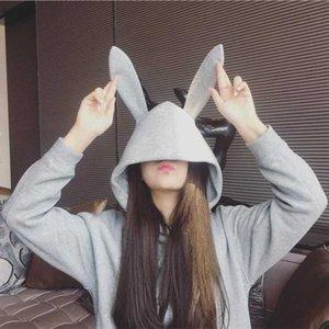 Mulheres Zsiibo Camisola Estudante Coat Coreano Moda Camisola Casaco Grande WY66
