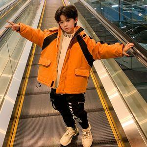 Big Boys Kids Clothes Winter Jacket Plush Coat Pie Overcomes Children's Blazer 3 Color Top Available DHL