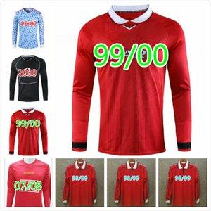 Retro 2002 United Soccer jersey football MAN Giggs SCHOLES Beckham RONALDO CANTONA Solskjaer 06 07 08 Manchester 94 96 97 98 99 86 88 1990