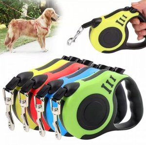 3M 5M Retractable Dog Leash Automatic Flexible Dog Leash Pet Dogs Cat Traction Rope Leashes For Small Medium Dogs SN4831