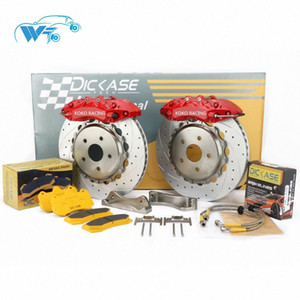 KOKO RACING racing using WT7040 cars brake system upgrade brake caliper with flower center bell disc 355mm for cars 0Idd#