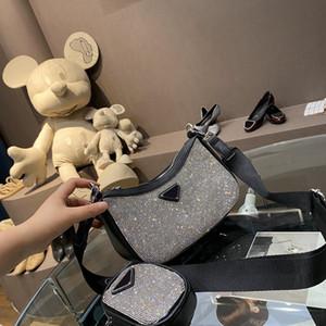 Mode hadbags Femme Sacs à bandoulière femme Sac Sac en cuir de vache de haute qualité diamant Top Rank Hot Sale Designer Retro spécial New Tote -1