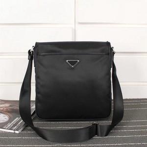 Mens Fashion Zipper Nylon Waterproof Cloth Messenger Bag Parachute Mens Shoulder Bag Canvas Casual Mens Bag