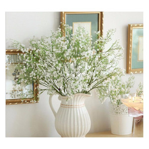 artificial baby's breath fake silk flower home wedding garden decor babysbreath vintage artificial flowers gypsophila festive