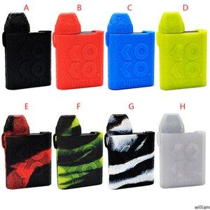 Uwell Caliburn KOKO Silikonhülle Gummi bunte Hülse Schutzüberzug-Haut für Uwell Caliburn KOKO Pod-System Cartridge-Kit Box Mod DHL