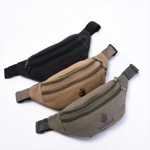 Lxfzq New Fanny Pack Canvas Pochetes Cintura Mulheres Womens Purse Sac Banane Waist Bag Belt Bags A Case For Phone Leg Bag