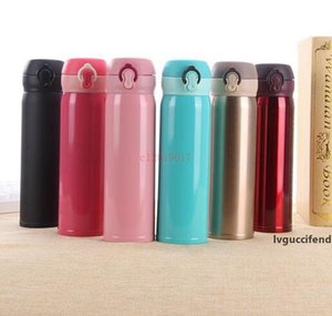 Originality Gift Portable Lock Bouncing Stainless Steel Insulation Vacuum Cup Thermos Universal Customizable LOGO