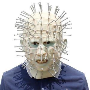 acXYA Parti düğüne Maskeli film maske kurşun cenobite EhaGJ Hellraiser Parti düğüne Maskeli adam maskesi cenobite adam Hellraiser filmi kurşun