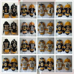 Boston Bruins Hockey Hoodkey Jerseys 4 Bobby Orr 33 Zdeno Chara 37 Patrice Bergeron 77 Ray Bourque Milan Lucic Tuukka Rask Brad Marchand