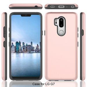 LG Q7 Stylo 2 Aristo 4 Escape 360 tam koruma telefon kılıfı Artı K10 2018 X Power2 Aristo V3 ince zırh kapak