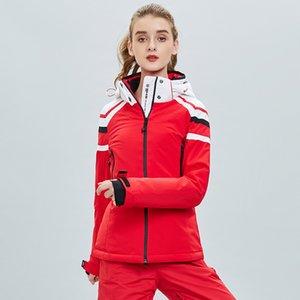Women Snowsuit hot sale Wind proof waterproof warm ski jacket women jacket cotton suit ski suit snow sports fashionable new