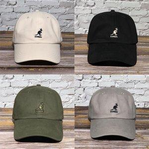 EQCPC Baseball Kangaroo e Kangol Kangaroo Hat Baseball Brand Morbido Top Carb Trendy Pointed Sunshade Sunshade Titanio Cappello Cappello Top Cap Baseball Cap K